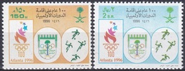 Saudi-Arabien Saudi-Arabia 1996 Sport Spiele Olympia Olympics Fußball Tennis Handball Weitsprung, Mi. 1250-1 ** - Saudi-Arabien