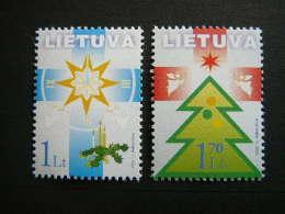 Holy Christmas And New Year # Lietuva Litauen Lituanie Litouwen Lithuania 2002 MNH # Mi. 804/5 - Lithuania