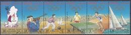 Qatar Katar 1996 Sport Spiele Olympia Olympics Atlanta Segeln Bowling Leichtathletik Tischtennis, Mi. 1076-1 ** - Qatar