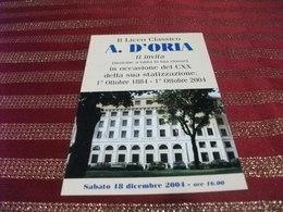 SCUOLA IL LICEO CLASSICO A. D'ORIA GENOVA - Scuole