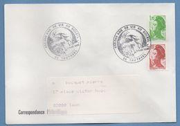 BT Bureau Temporaire 450000 An S De Vie Au Soleil Tautavel 1985 / N° 2321 + 2179 Voy TB Préhistoire - Prehistorie