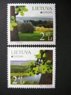 Europa - Forest # Lietuva Litauen Lituanie Litouwen Lithuania 2011 MNH # Mi. 1063/4 - Lithuania