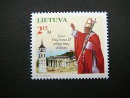 Pope John Paul II # Lietuva Litauen Lituanie Litouwen Lithuania 2011 MNH # Mi. 1065 - Lithuania