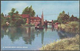 Wayford Bridge On The Norfolk Broads, C.1960s - Salmon Postcard - Other