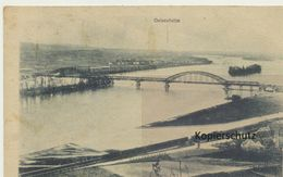 AK Bingen, Neue Rheinbrücke - Bingen