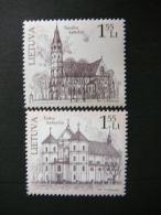 The Churches Of Lithuania # Lietuva Litauen Lituanie Litouwen Lithuania 2011 MNH # Mi. 1078/9 - Lithuania