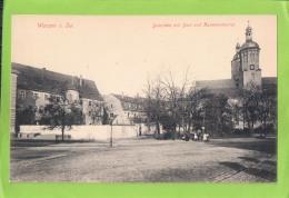 AK Wurzen In Sachsen - Domplatz Mit Dom Und Kommandantur - Ungebraucht Um 1910 - Wurzen