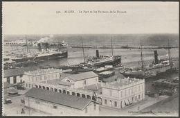 Le Port Et Les Bureaux De La Douane, Alger, Algerie, C.1910 - Régence CPA - Algiers