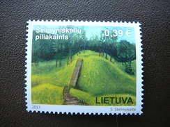 The Year Of Hillforts # Lietuva Litauen Lituanie Litouwen Lithuania 2017 MNH # Mi. 1254 - Lithuania