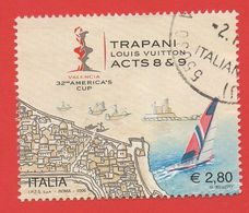 2005 (2842) America's Cup Trapani (da Foglietto)  - Leggi Il Messaggio Del Venditore - 6. 1946-.. Repubblica
