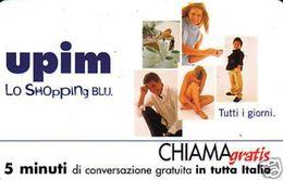 *CHIAMAGRATIS - N.372 - UPIM* - Scheda NUOVA (MASTER) - Italy