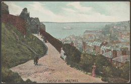 Castle Hill, Hastings, Sussex, 1907 - Ross Series Postcard - Hastings