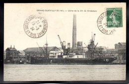 GRAND QUEVILLY 76 - Usine De La Cie De St Gobain - Le Grand-Quevilly