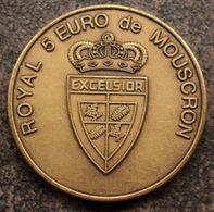 3172 Vz Royal 5 Euro De Mouscron  – Kz Montee En Division 1 9/06/1996 - Tokens Of Communes