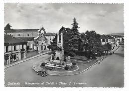GALLARATE - MONUMENTO AI CADUTI E CHIESA S.FRANCESCO   VIAGGIATA FG - Varese