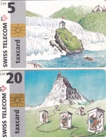 11508 - N°. 2 TAXCARDS-USATE - Suisse