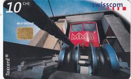 11510 - TAXCARD - FUNICOLARE MUOTTAS MURAGL -USATA - Suisse