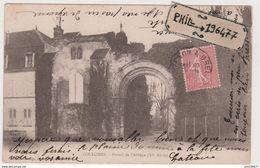 28 Coulombs - Cpa / Portail De L'Abbaye. - Altri Comuni