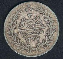 Ägypten, 20 Qirsh 1327 - 3 H, Silber - Egypt