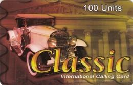 Classic International Card, Car, 2 Scans.   Please Read - Cars