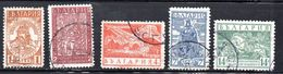 BULGARIA.  AÑO 1935.  Yv  264/268 (USED) - 1909-45 Reino