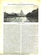 Von Der Münchner Kraft-und Arbeitsmaschinenausstellung / Artikel, Entnommen Aus Zeitschrift/1898 - Vieux Papiers