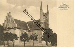 Kirche Joachimsthal 30er Jahre - Verlag Paul Paatzke Joachimsthal - Joachimsthal
