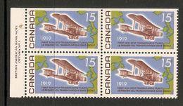006290 Canada 1969 Flight 15c Plate Block 1 UL MNH - Numeri Di Tavola E Bordi Di Foglio
