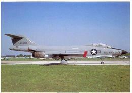 Aviation Postcard-US AIR FORCE F-101A Voodoo Military Card M003 - 1946-....: Moderne