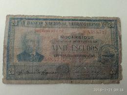 20 Escudos 1945 - Mozambico