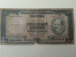 50 Escudos 1958 - Mozambico