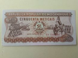 50 Meticais 1986 - Mozambique