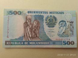 500 Meticais 1991 - Mozambico