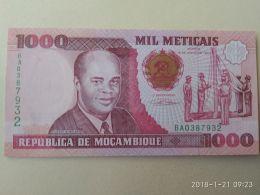 1000 Meticais 1991 - Mozambico
