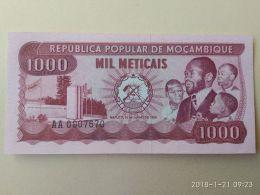 1000 Meticais 1980 - Mozambico