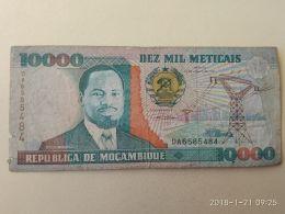 10000 Meticais 1991 - Mozambico