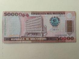 50000 Meticais 1993 - Mozambico