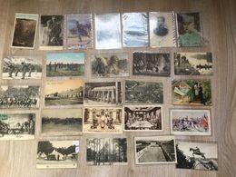 MILITARIA  14/18 - 26 CPA BELGIQUE ET FRANCE - CERTAINES ONT CIRCULEES - Guerre 1914-18