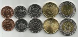 Egypt 2007/2010. Coin Set UNC - Egypt