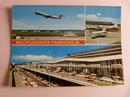 AIRPORT / FLUGHAFEN / AEROPORT      FRANKFURT MAIN     B 747 / 727 PAN AM - Aeródromos