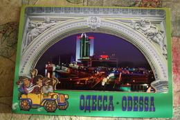 Ukraine. Odessa. 8 Postcards  Old Lot  - 1990s - Ukraine
