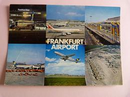 AIRPORT / FLUGHAFEN / AEROPORT      FRANKFURT MAIN - Aerodrome