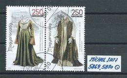 UNGARN MICHEL SATZ 5869,5870 Rundgestempelt Siehe Scan - Ungarn