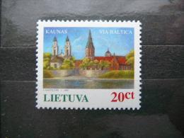 Via Baltica Motorway Project # Lietuva Lithuania Litauen Lituanie Litouwen 1995 MNH # Mi. 576 - Lithuania