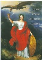 8890 Hungary Postcard Academy Of Sciences Art Painting Coat-of-Arms Fauna Animal Bird Organization - Paintings