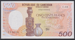 Cameroun 500 Francs 01.01.1987 UNC - Cameroon