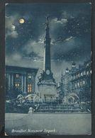 +++ CPA - BRUSSELS - BRUXELLES - Monument Anspach - Nuit Night   // - Monumenten, Gebouwen