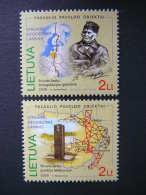The World Heritage Objects. The Struve Geodetic Arc # Lietuva Litauen Lituanie Litouwen Lithuania 2009 MNH # Mi. 1023/4 - Lithuania