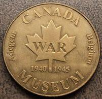 3177 Vz Canada War Museum Adegem - Kz Belgian Heritage Collectors Coin - Netherland