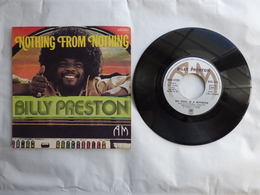 EP 45 T  BILLY PRESTON  AM 625002  NOTHING  FROM NOTHING - Disco & Pop